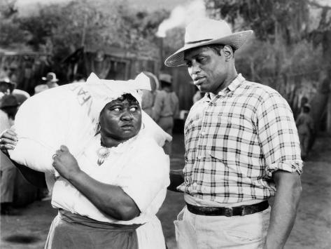 Show Boat, Hattie McDaniel, Paul Robeson, 1936 Photo
