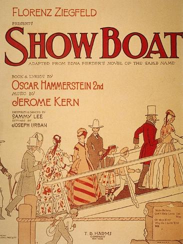 Show Boat Poster, 1927 Giclee Print