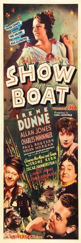 Show Boat Art Print