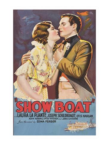 Showboat Art Print