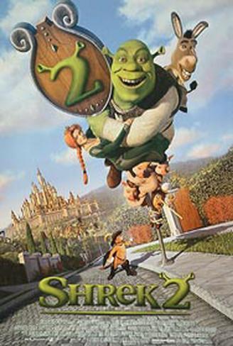 Shrek 2 Original Poster