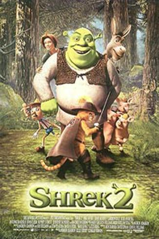 Shrek 2 Original Poster
