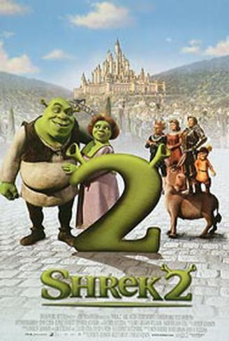 Shrek 2 Pôster original
