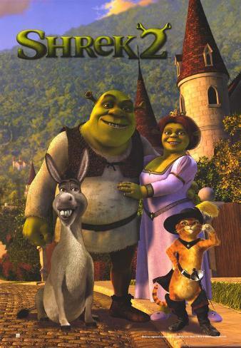 Shrek 2 Masterprint