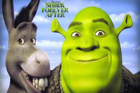 Shrek Forever After Stampa master