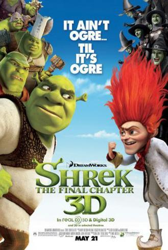 Shrek - The Final Chapter Original Poster