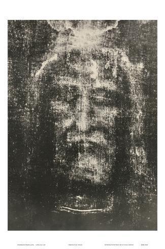 Shroud of Turin Art Print