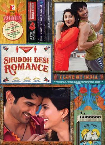 Shuddh Desi Romance Movie Poster Poster