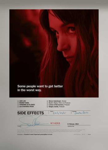 Side Effects (Rooney Mara, Channing Tatum, Jude Law) Movie Poster Masterprint