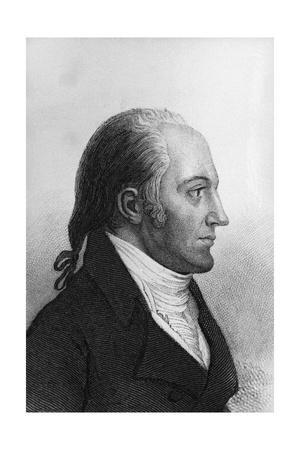 Side View Portrait of Aaron Burr Giclee Print at ...