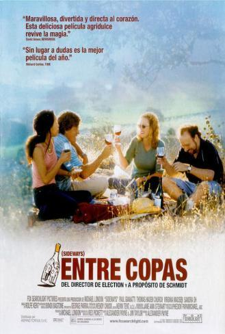 Sideways - Spanish Style Poster