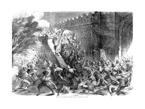 Siege of Delhi, Indian Mutiny, September 1857 Giclee Print