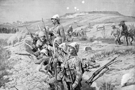 Siege of Ladysmith, South Africa, Boer War, 1899-1900 Giclee Print