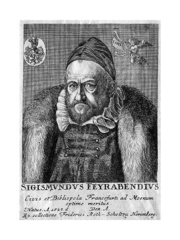 Sigmund Feyerabend Stampa giclée