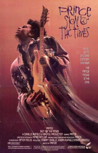 Sign O The Times - Prince Impressão original