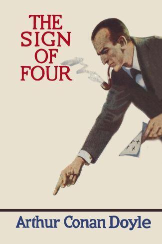 Sign of Four II Vinilo decorativo
