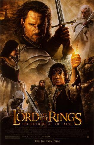 Signore degli Anelli - Il ritorno del re, Il Stampa master