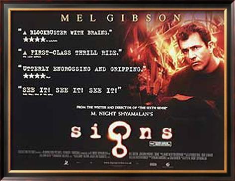 Signs Framed Poster