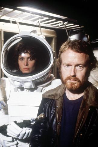 Sigourney Weaver; Ridley Scott.