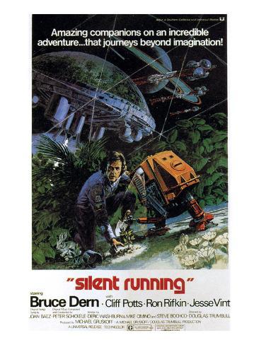 Silent Running, Bruce Dern, 1972 Photo