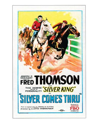 Silver Comes Through - 1927 Giclee Print
