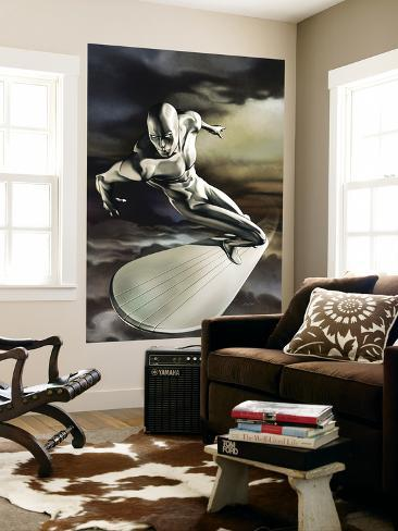 Silver Surfer No.5 Cover: Silver Surfer Wall Mural