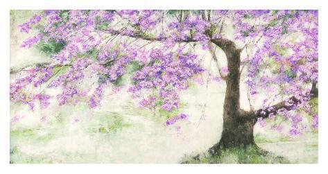 Albero fiorito Art Print