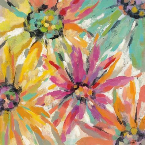 Abstracted Petals II Art Print