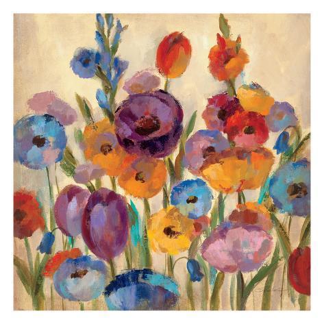 Garden Hues I Premium Giclee Print