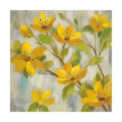 Golden Bloom I Premium Giclee Print