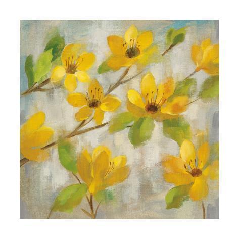 Golden Bloom II Art Print