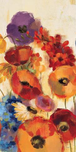 Joyful Garden Panel III Art Print