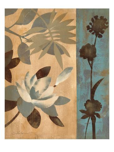 Romantic Magnolias II Art Print