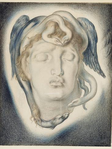 The Head of Medusa, 1884 Giclee Print