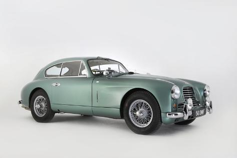 Aston Martin DB2-4 works 1956 Valokuvavedos