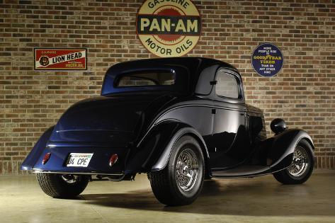 Ford Coupe Custom 1934 Valokuvavedos