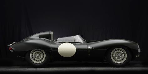 Jaguar D type 1956 Valokuvavedos