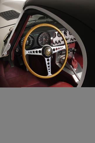 Jaguar E type 1961 Valokuvavedos