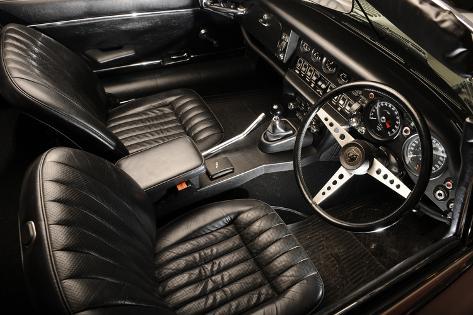 Jaguar E type 1974 Valokuvavedos