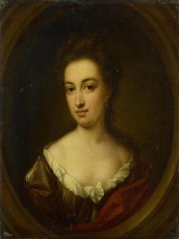 Portrait of Josina Clara Van Citters Art Print