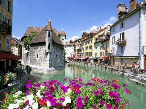 Annecy, Haute Savoie, Rhone Alpes, France Photographic Print
