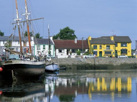 Kinvara, Galway Bay, County Galway, Connacht, Eire (Republic of Ireland) Photographic Print