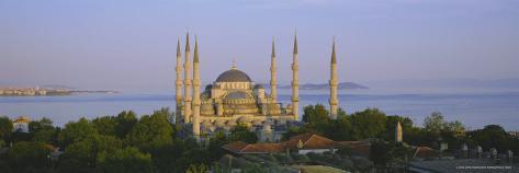 The Blue Mosque (Sultan Ahmet Mosque), Istanbul, Turkey, Europe Photographic Print