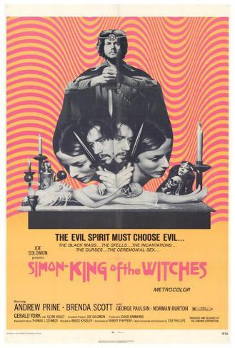 Simon King of the Witches Poster