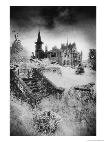 Ecclescrieg House, Kincardineshire, Scotland Giclee Print
