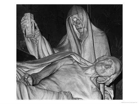 Funerary Monument, Notre Dame, Paris Giclee Print