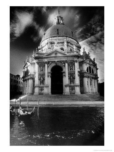 The Basilica of Santa Maria Della Salute Giclee Print