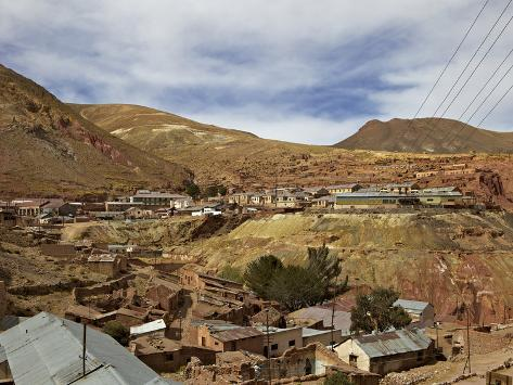 Old Mining Ghost Town of Pulacayo, Famously Linked to Butch Cassidy and Sundance Kid, Bolivia Photographic Print