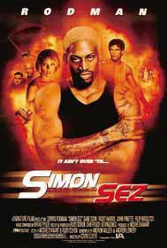 Simon Sez Original Poster
