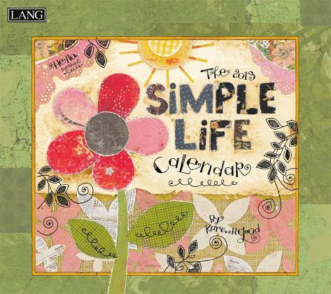 Simple Life - 2013 Wall Calendar Calendars